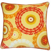Jiti Buttons Orange Pillow - Walmart.com