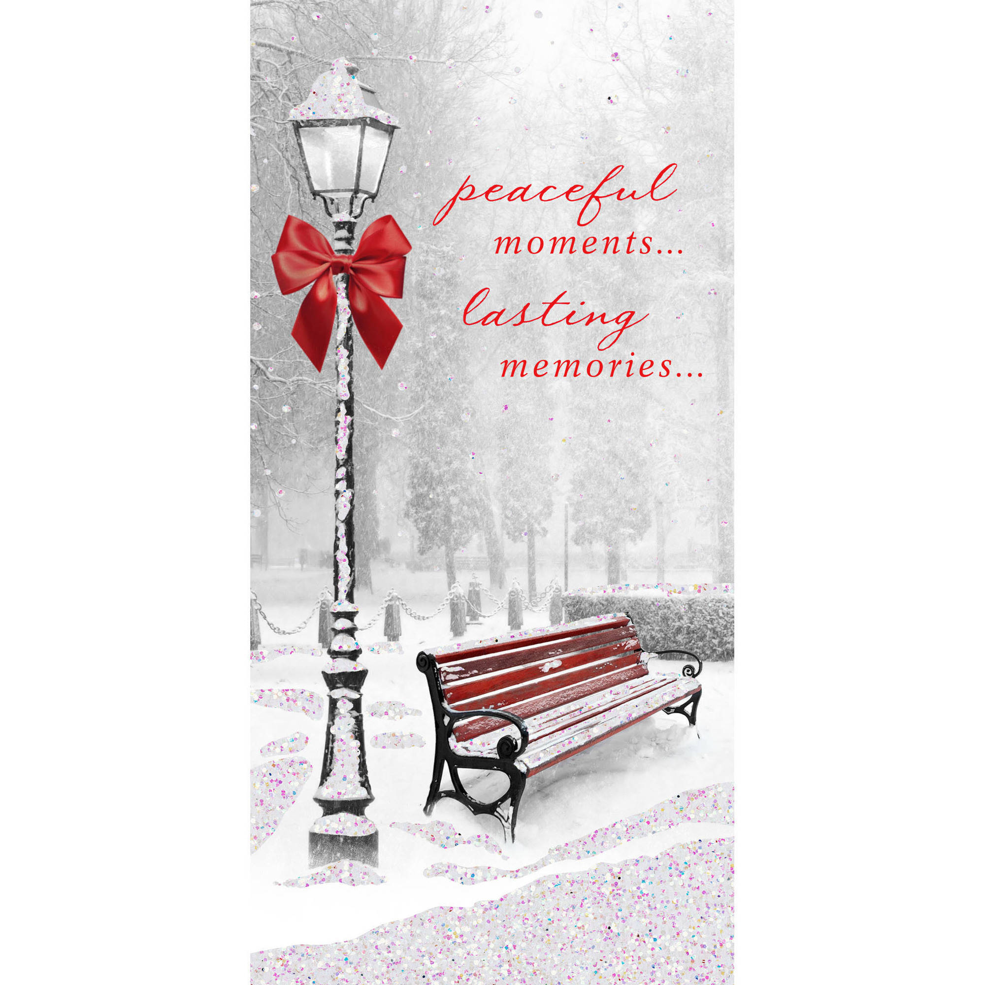 DaySpring Inspirational Boxed Christmas Cards White Lamp