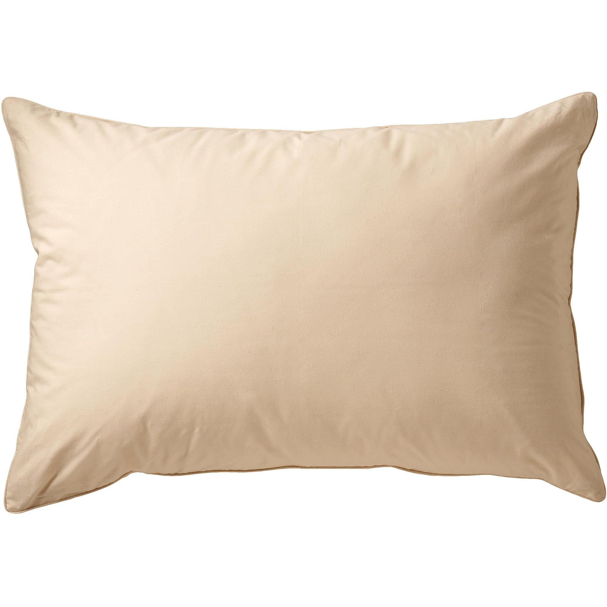 allerease organic cotton cover allergy protection pillow standard queen 20 x 28 walmart com