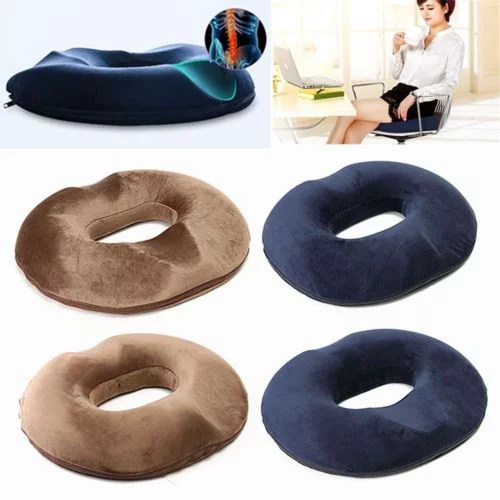donut pillow for tailbone pain tailbone pain relief cushion for back and sciatica relief surgery pregnancy support coccyx cushion memory foam