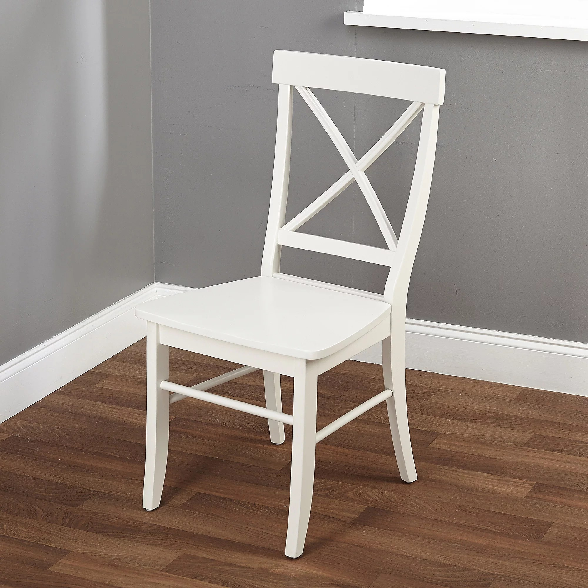 cross back dining chairs white dorm ikea easton crossback chair multiple colors walmart com