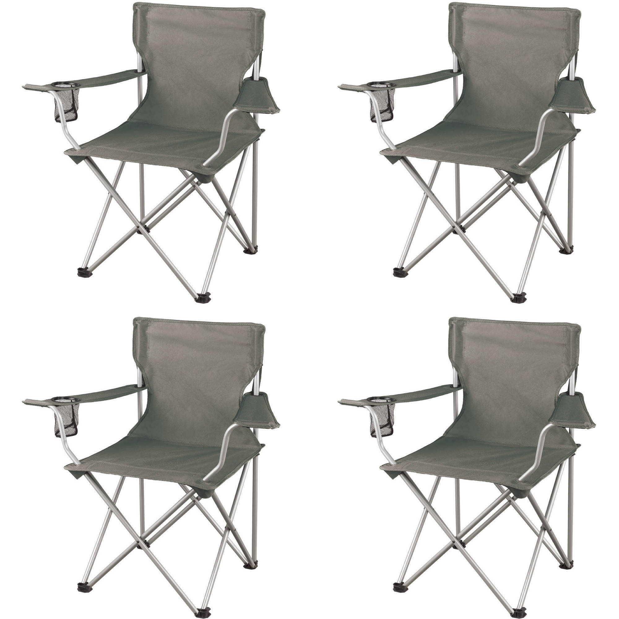 Fold Up Chair With Canopy Ozark Trail Classic Folding Camp Chairs Set Of 4