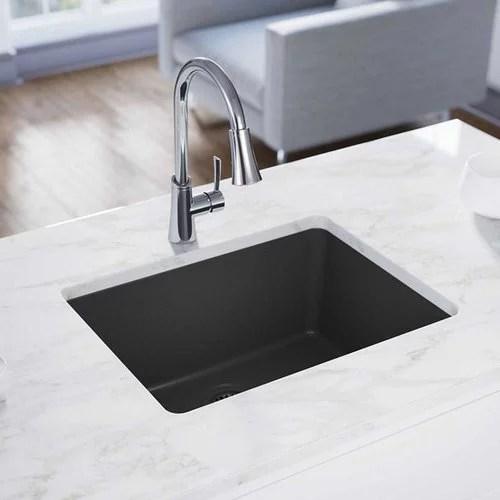 elkay quartz classic 25 l x 19 w undermount kitchen sink