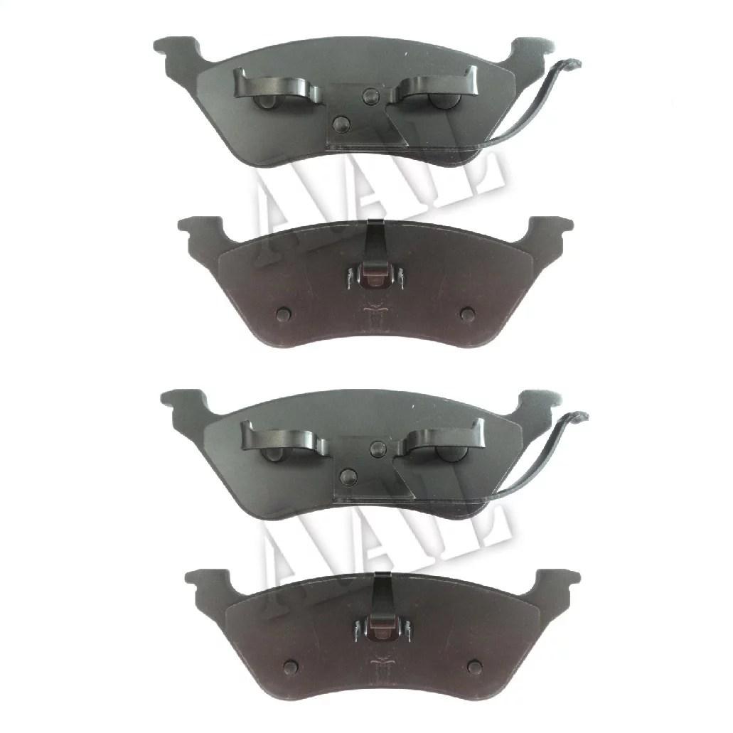 hight resolution of aal premium ceramic rear brake pads for 2002 2003 2004 2005 2006 2007 dodge grand caravan disco disco complete set 4 pieces walmart com