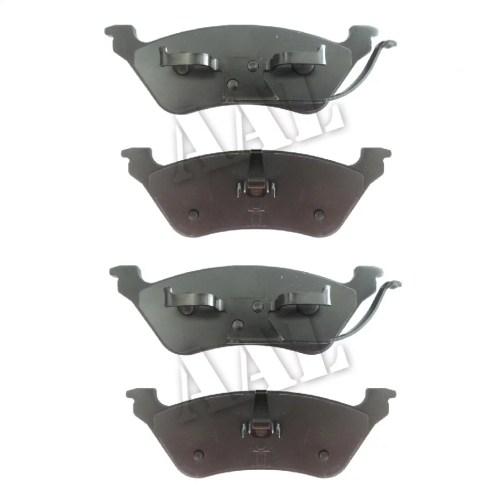 small resolution of aal premium ceramic rear brake pads for 2002 2003 2004 2005 2006 2007 dodge grand caravan disco disco complete set 4 pieces walmart com