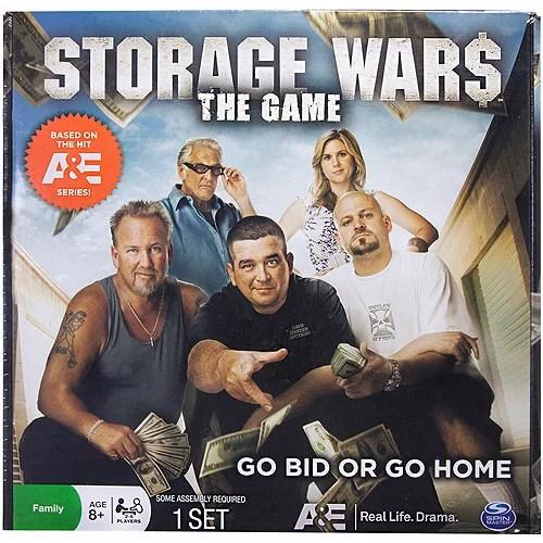 storage wars board game