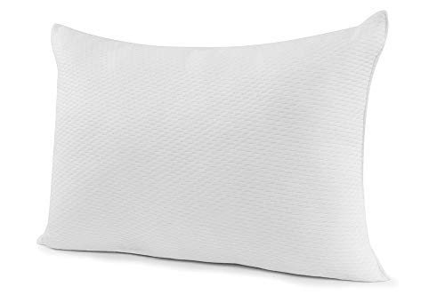 live sleep memory foam pillow side