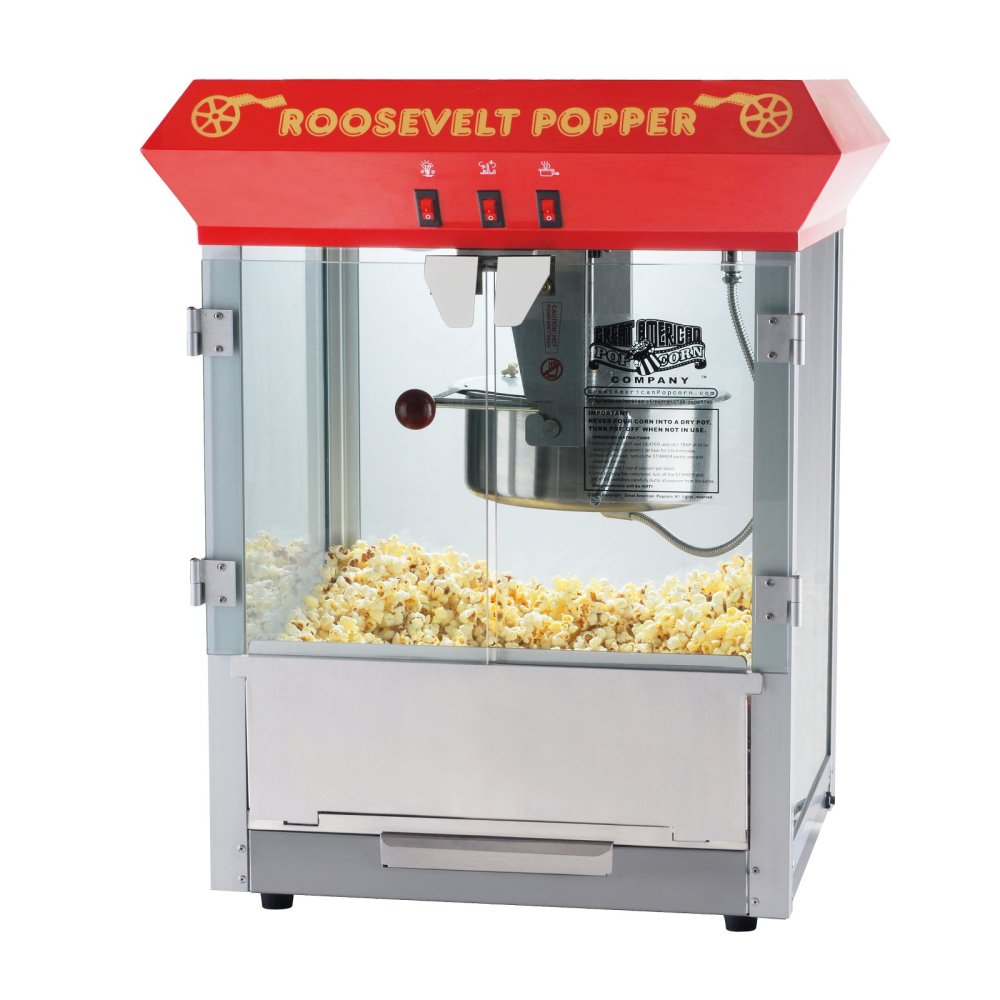 medium resolution of great northern red 8 ounce antique countertop style popcorn popper machine walmart com