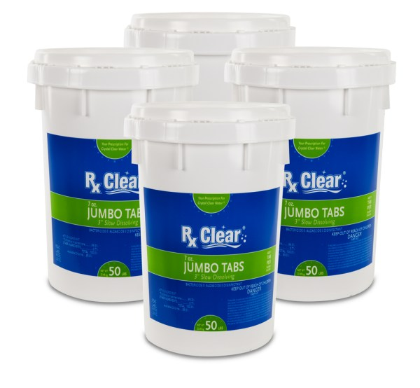 Rx Clear 3 Stabilized Chlorine Tablets