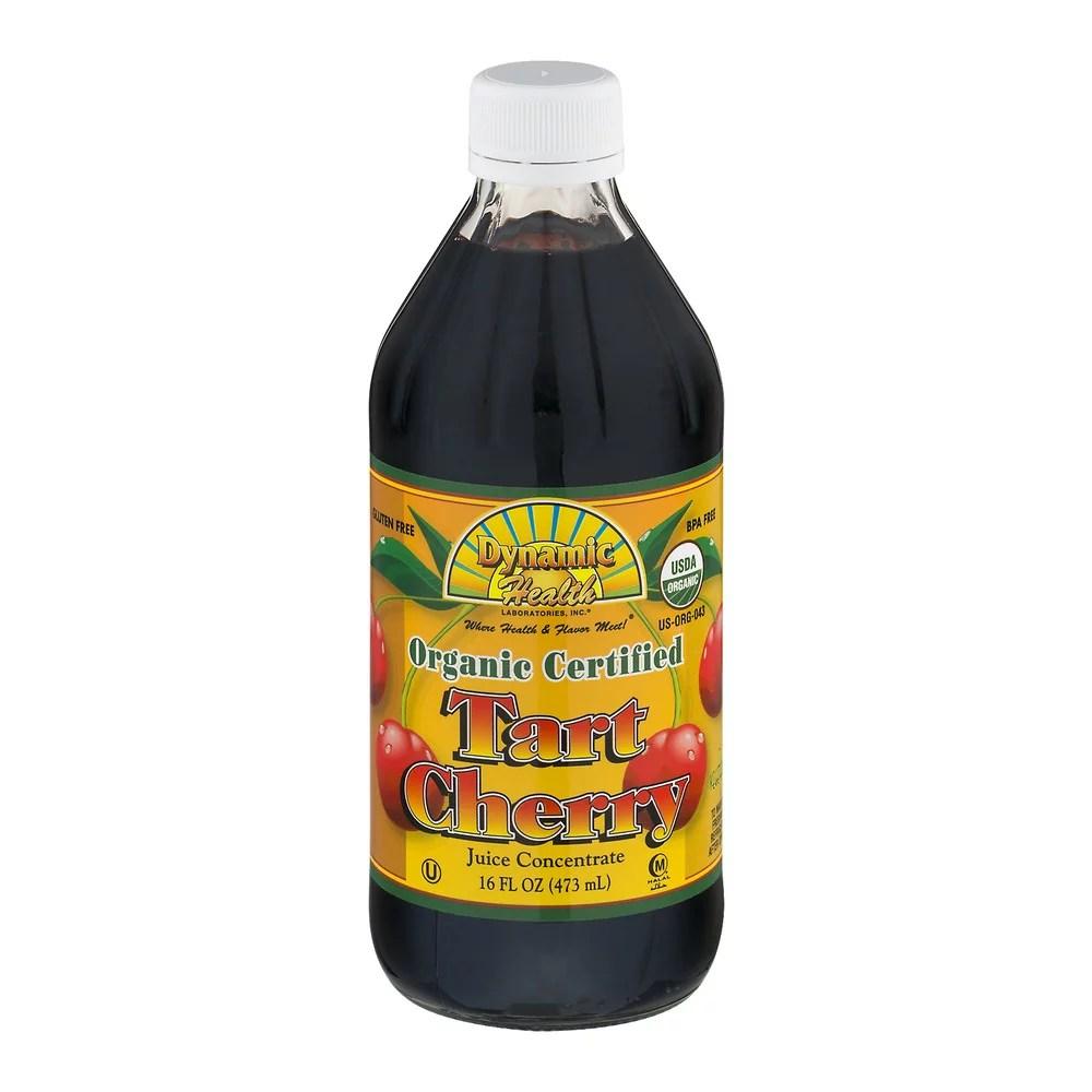 Dynamic Health Organic Certified Tart Cherry Juice ...