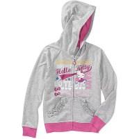 ONLINE - Hello Kitty - Girls' Graphic Hoodie - Walmart.com