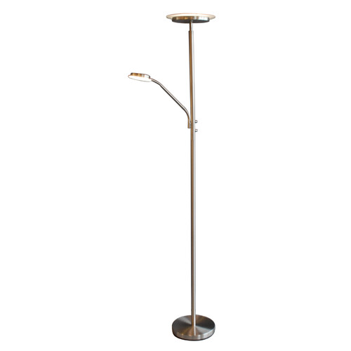 NormandeLighting 71 LED Torchiere Floor Lamp  Walmartcom