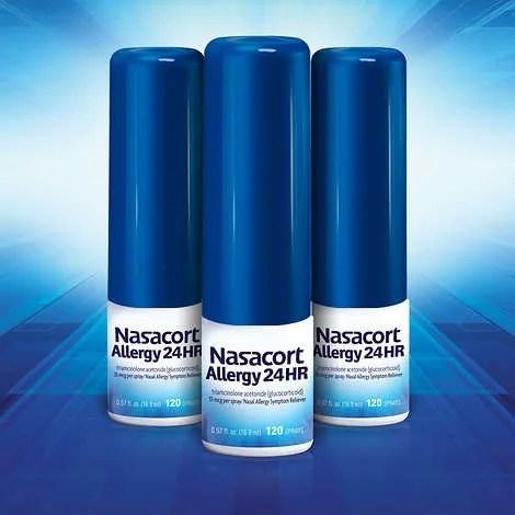 Nasacort Allergy 24HR 3 Bottles - Walmart.com