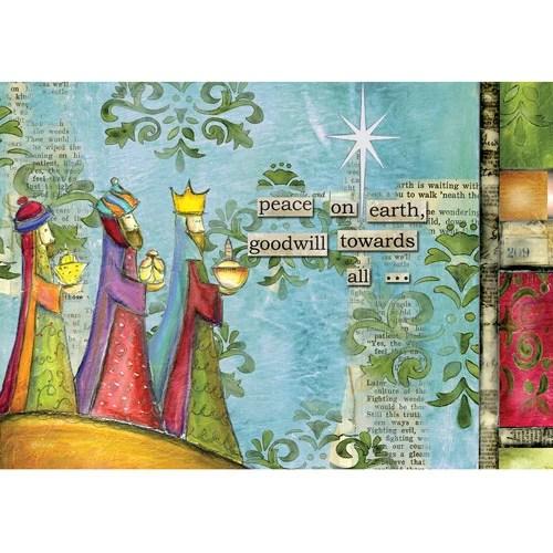 Artisan Peace On Earth Petite Christmas Cards