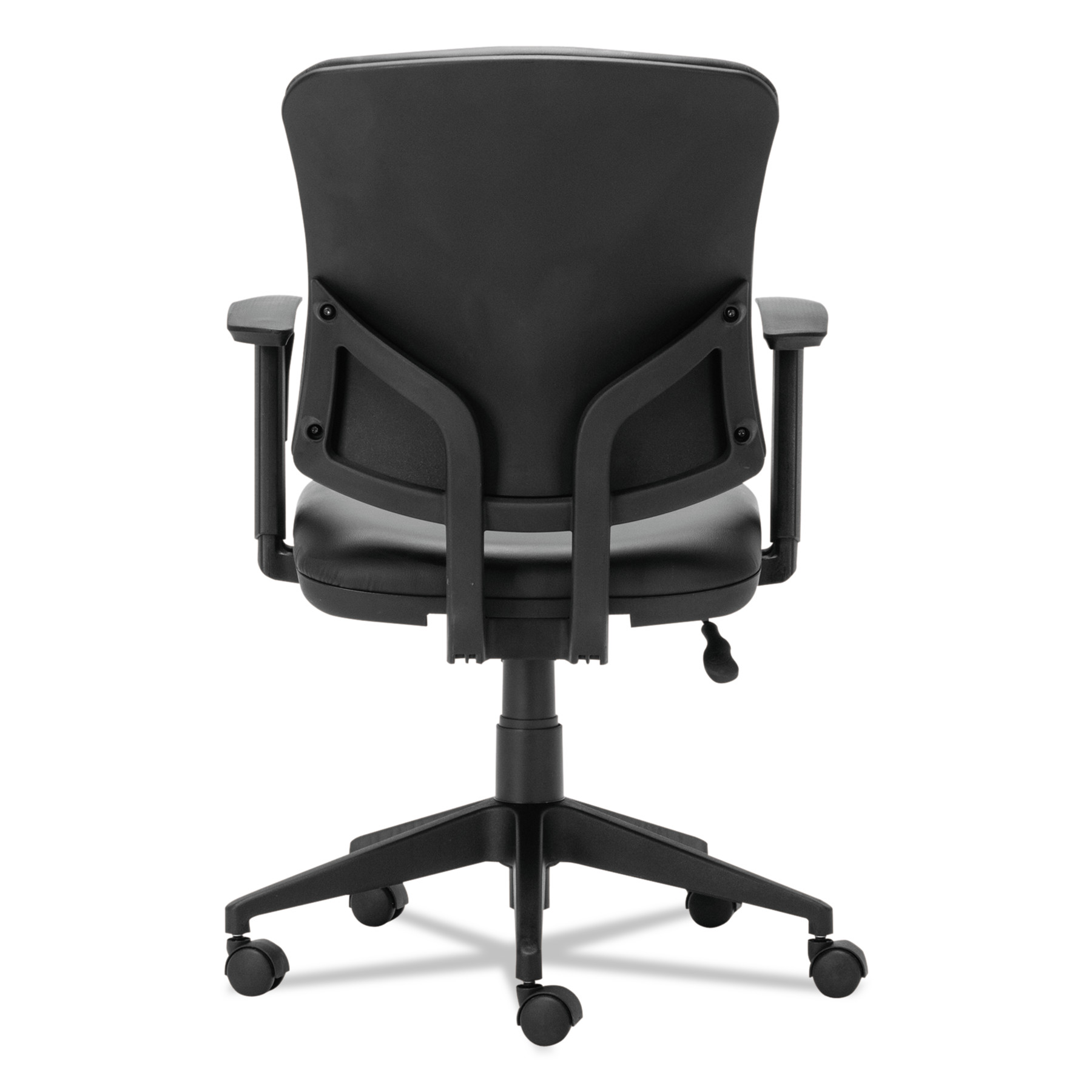 Alera Office Chairs Alera Everyday Task Office Chair Black Leather