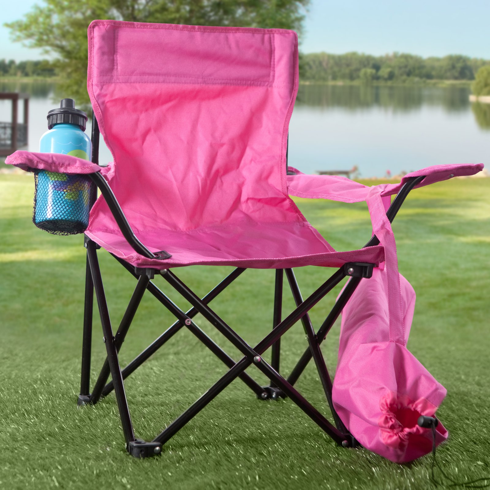 Folding Camping High Chair Kids Folding Camp Chair Walmart