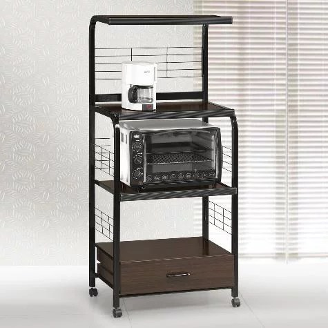 crown mark kitchen cart with microwave shelf