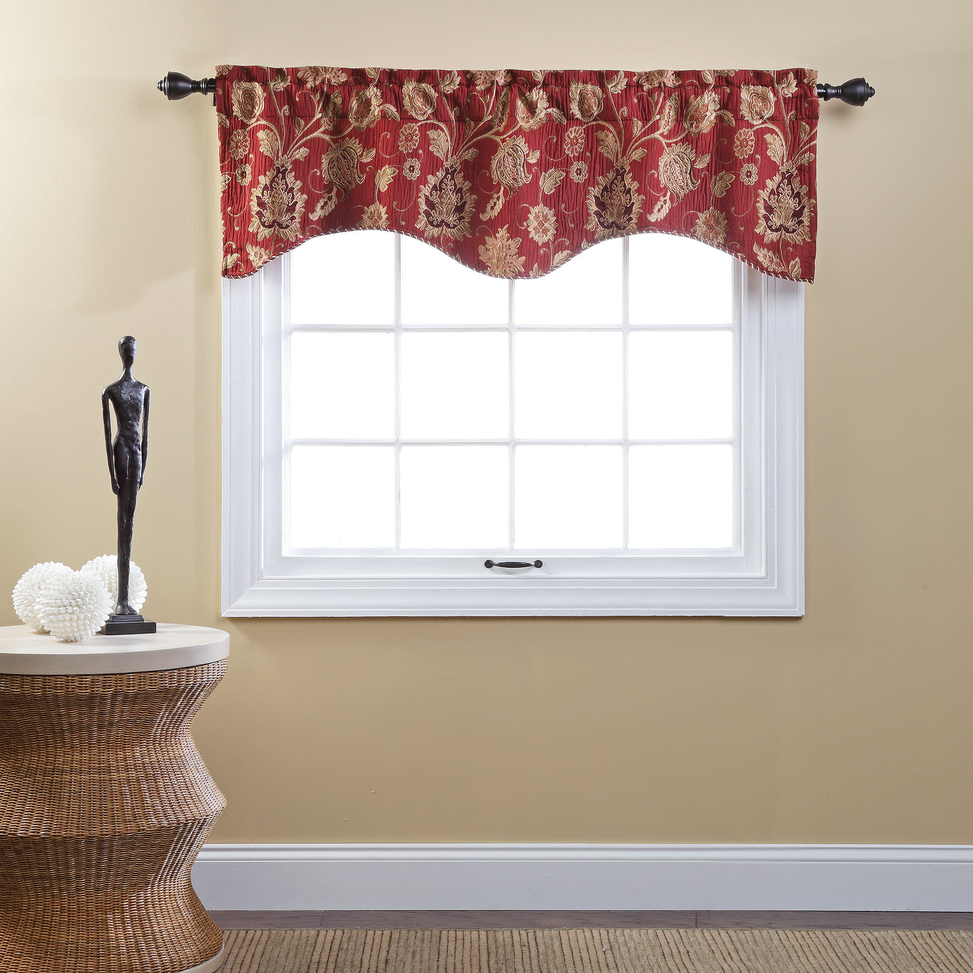 red valances for kitchen windows black pull handles cabinets valance curtains curtain menzilperde net