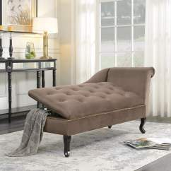 Pictures Of Chaise Lounge Chairs Carolina Chair And Table Lounges Walmart Com Product Image Belleze Velveteen Tufted Couch For Living Room Nailhead Trim With Storage Brown