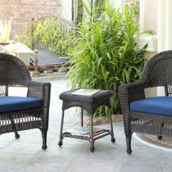 Black Resin Chairs Cuddle Chair Bed 4 Piece Wicker Patio Furniture Set Loveseat