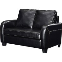 Dorel Home Twin Sleeper Loveseat, Multiple Colors ...