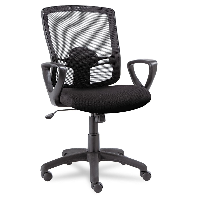 alera office chairs modern chair design etros series mesh mid back swivel tilt black walmart com