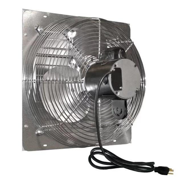 j and d ves201c 20 in shutter exhaust fan with cord 1 10 hp