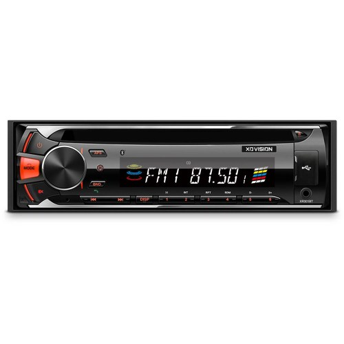small resolution of xovision cd and mp3 receiver with bluetooth and detachable face