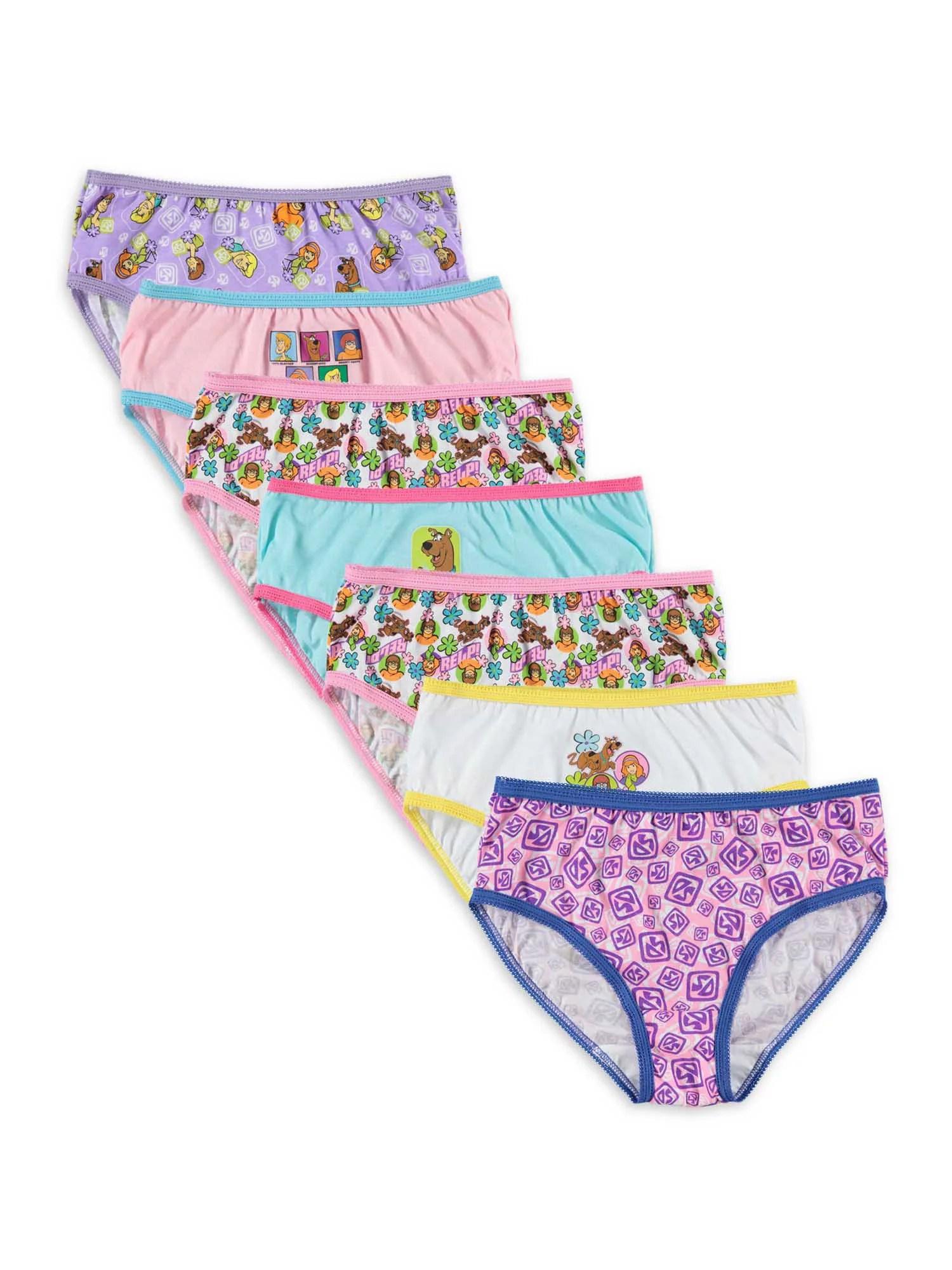 Images Of Girls In Panties : images, girls, panties, Scooby-Doo, Scooby-Doo,, Girls, Underwear,, Panties,, Sizes, Walmart.com