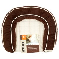 Stuft Blissful Rest Dog Bed, Small, Brown - Walmart.com