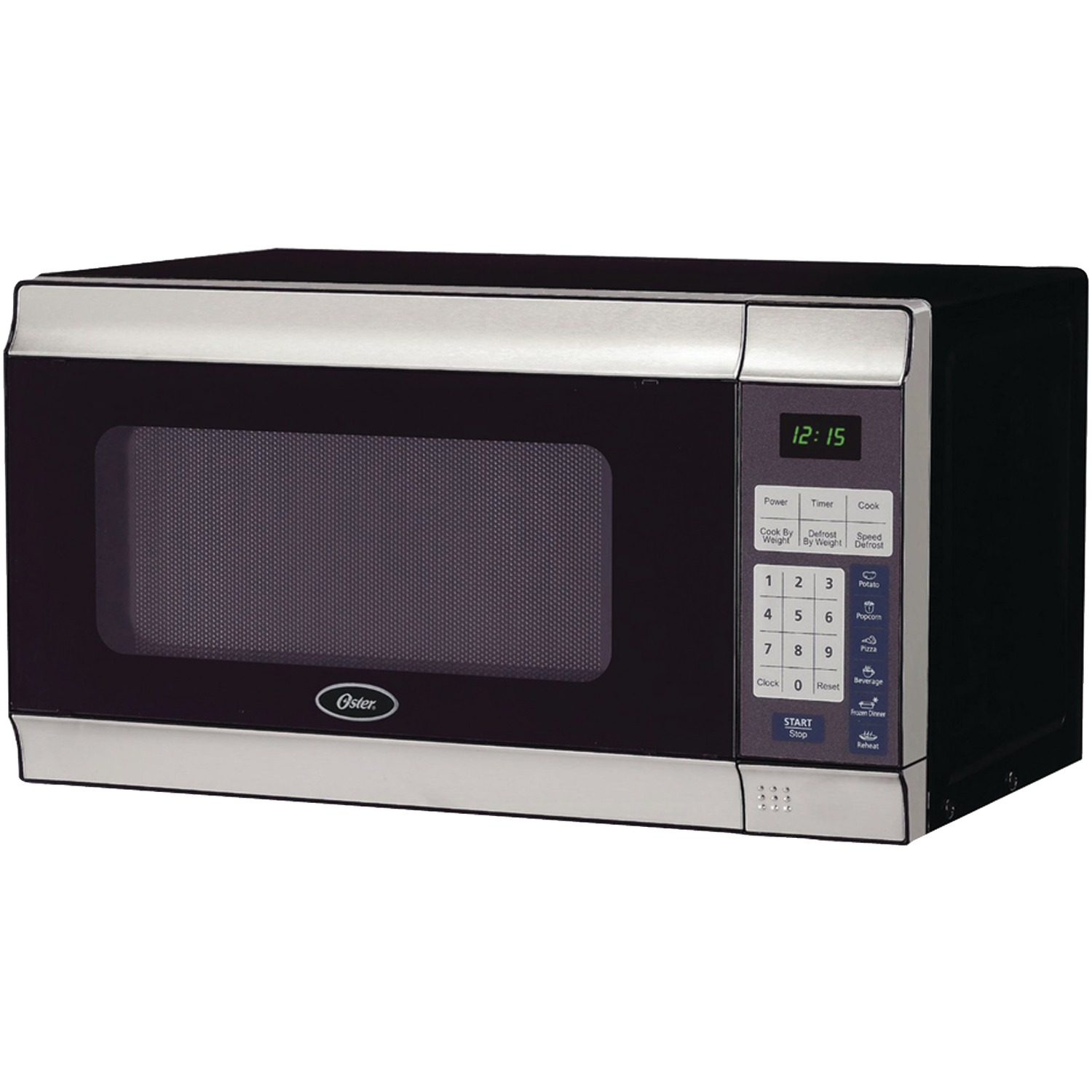 oster ogt6701 7 cubic ft stainless steel microwave walmart com