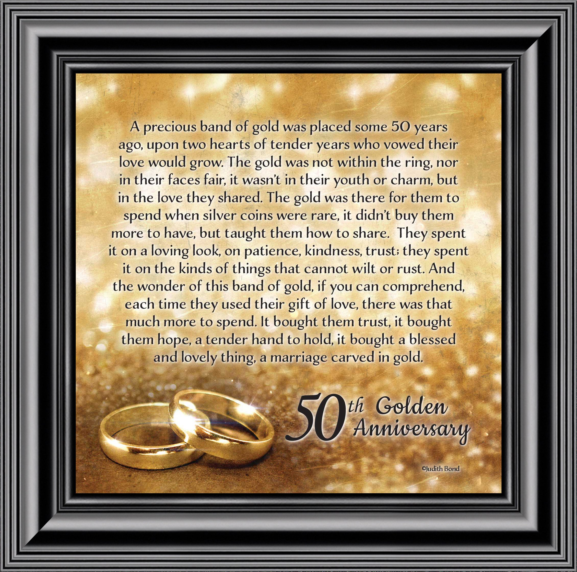bands of gold 50th