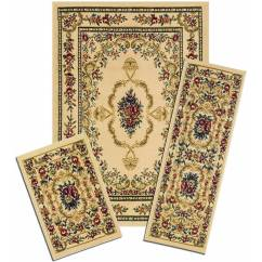 3 Piece Kitchen Rug Set Swivel Aerator For Faucet Mainstays Faux Sisal Area Walmart
