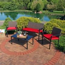 sunnydaze kula 4-piece outdoor