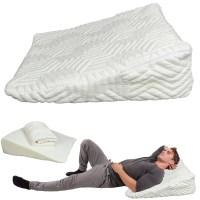 Ktaxon Memory Foam Wedge Pillow Bed Back Lumbar Neck ...