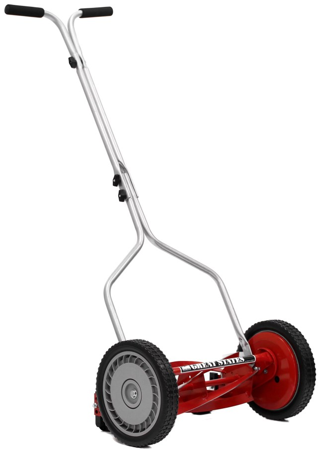 Great States 304-14 14 Inch Wide 5-Blade Reel Lawn Mower
