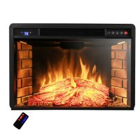 AKDY 28'' Electric Fireplace Insert