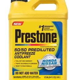 prestone prediluted antifreeze coolant formulated for honda nissan vehicles walmart com [ 1154 x 1871 Pixel ]