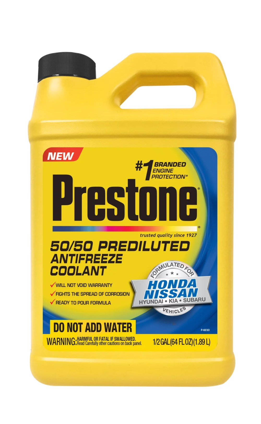 medium resolution of prestone prediluted antifreeze coolant formulated for honda nissan vehicles walmart com
