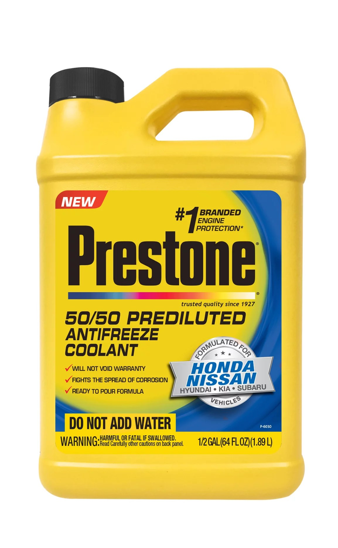 hight resolution of prestone prediluted antifreeze coolant formulated for honda nissan vehicles walmart com
