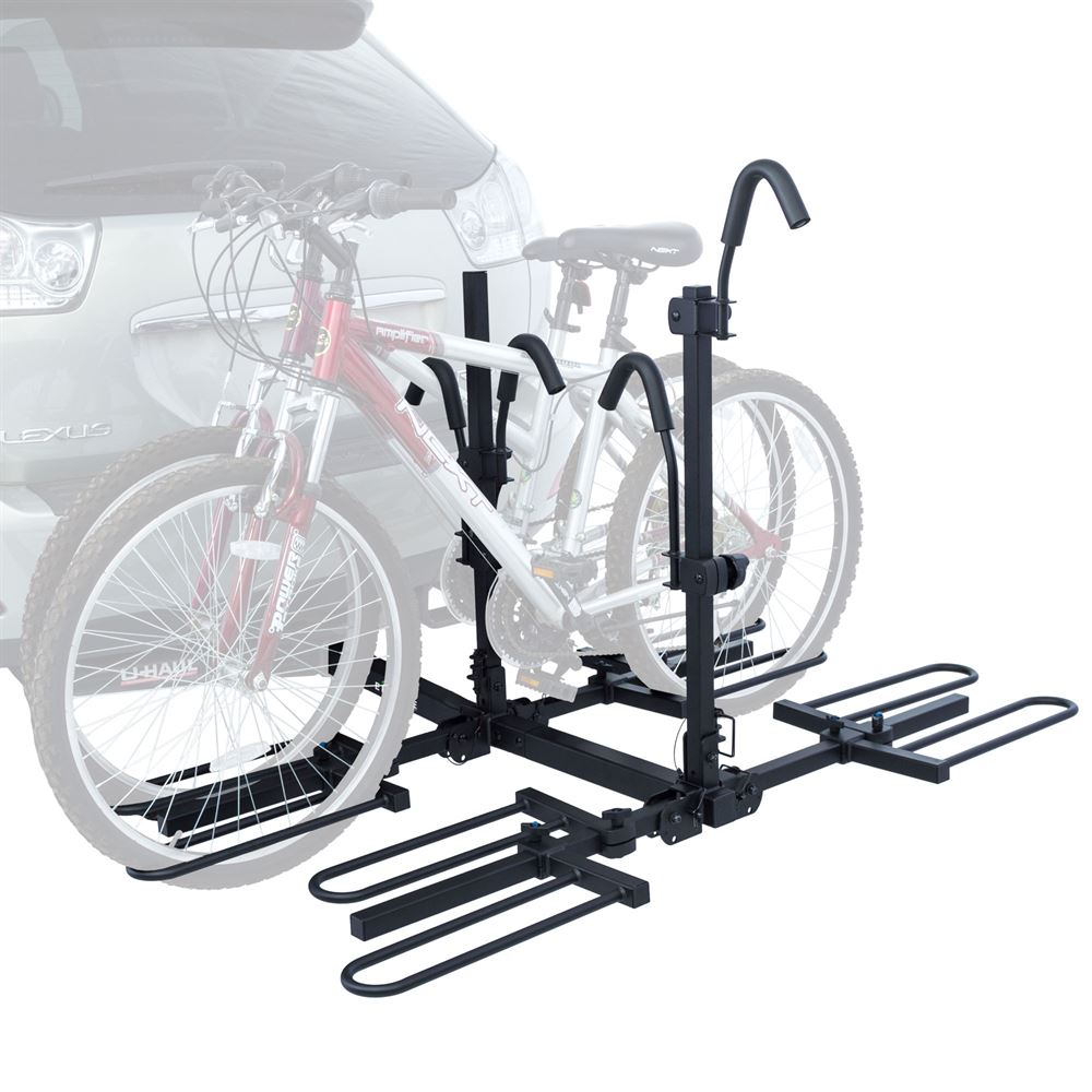 elevate outdoor bc 7845 4 tray style hitch mounted bike rack fits 4 bikes