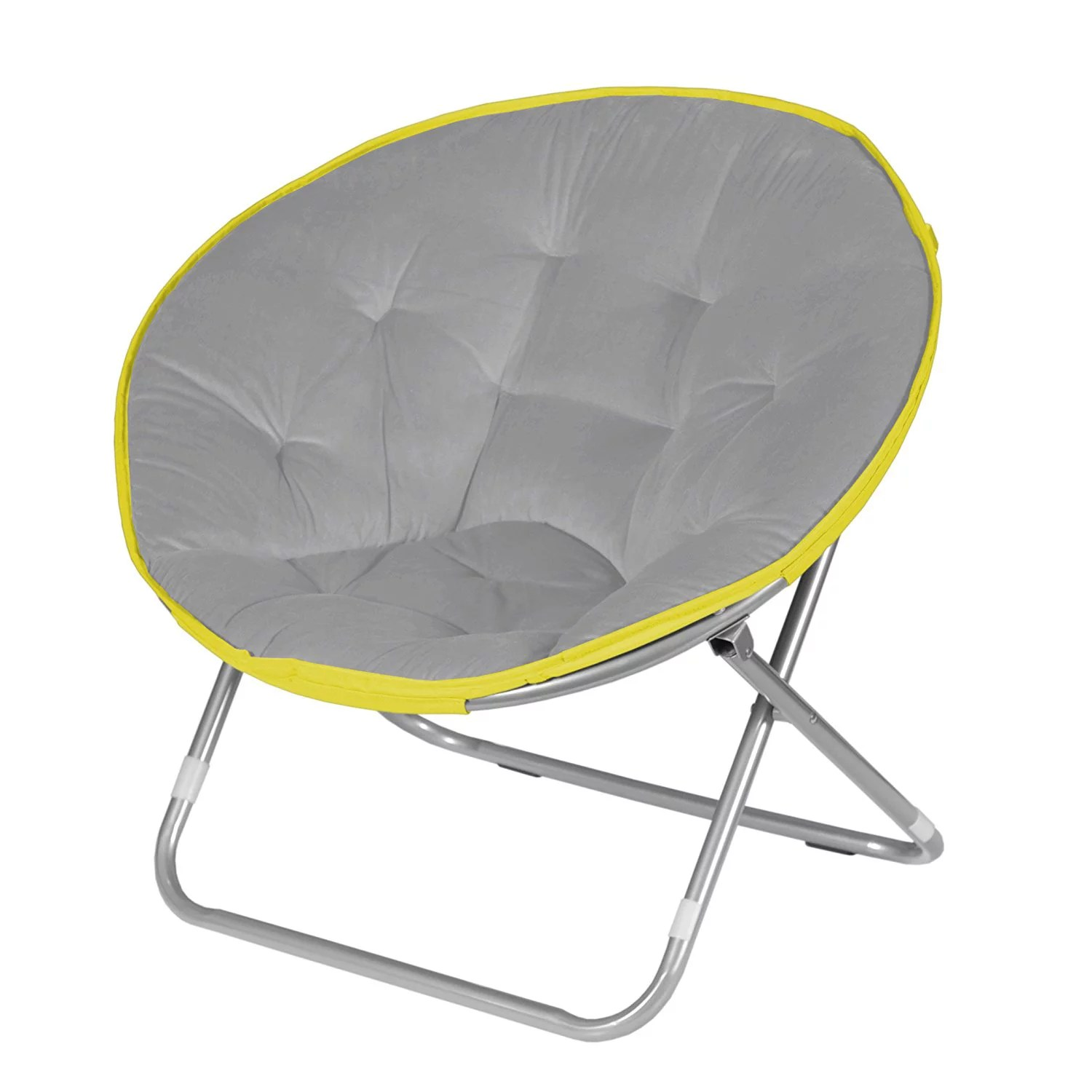 adult saucer chair tweed dining room covers urban shop available in multiple colors walmart com