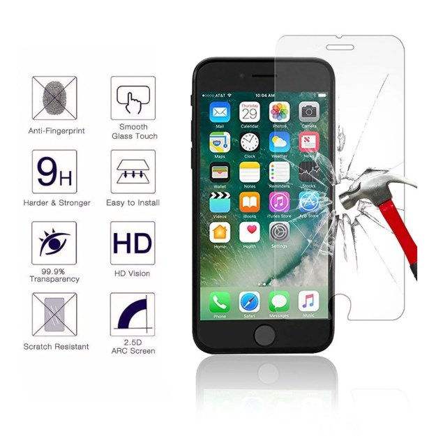 0.33mm Anti Spy Privacy Tempered Glass Film For Apple