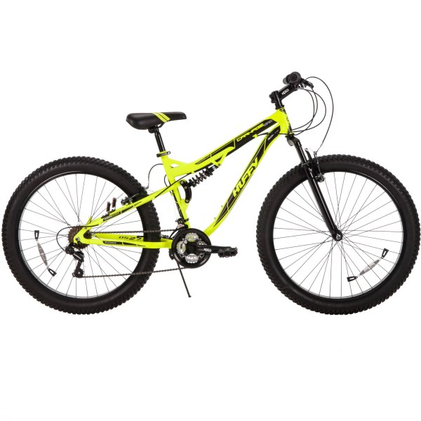 Yellow Huffy Mountain Bike