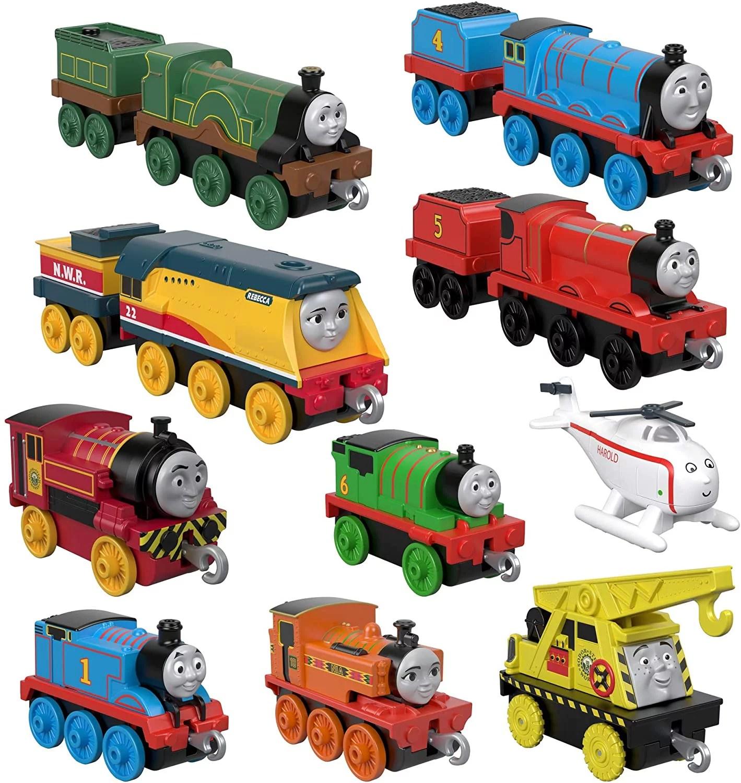 Thomas Friends Trackmaster Sodor Steamies Train Engines Set Walmart Com Walmart Com