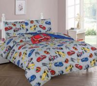 TWIN RACE CAR BOYS BEDDING SET, Beautiful Microfiber