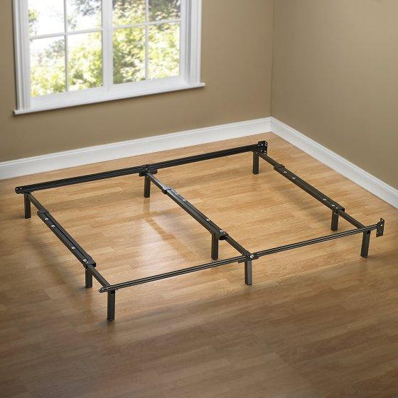 Zinus Compack Adjule Steel Bed Frame For Box Spring Mattress Set Fits