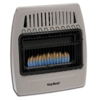 KozyWorld 30,000 BTU Propane Wall Mounted Heater - Walmart.com