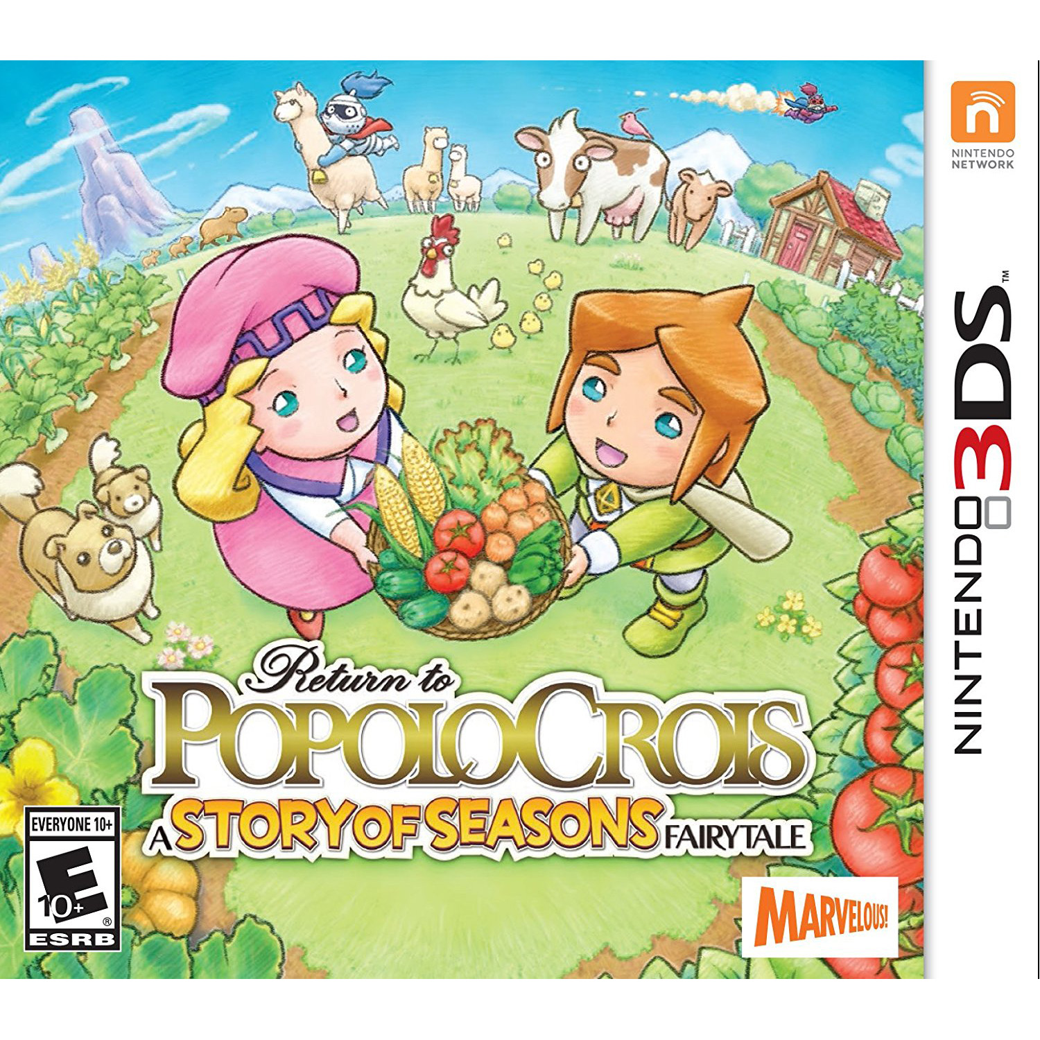 Return Popolocrois Story F – Pre-Owned (Nintendo 3DS)