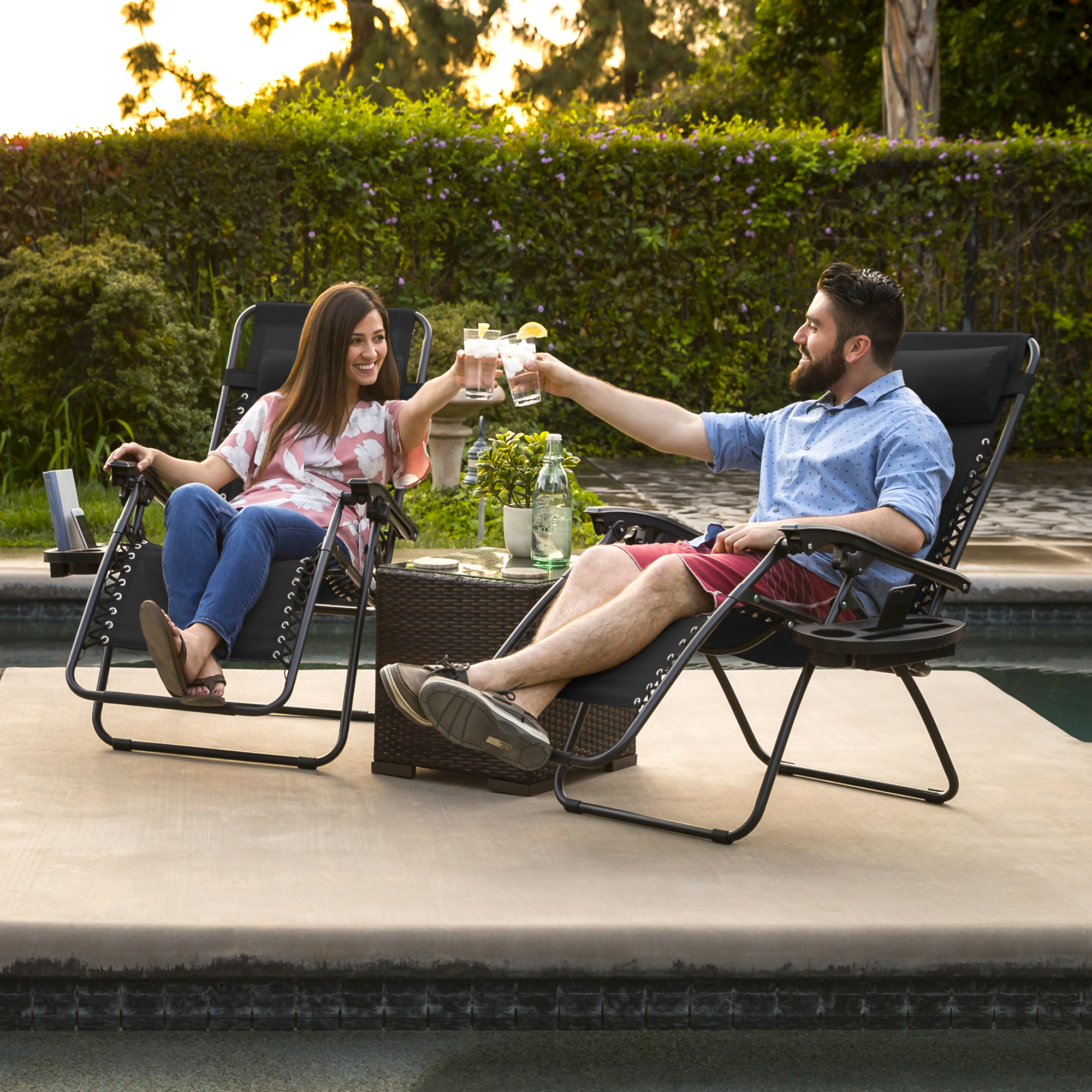 primus reclining outdoor lounge chair hunting chairs and stools zero gravity case of 2 patio yard beach new walmart com